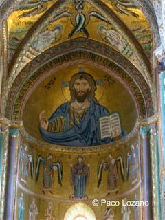 Pantocrator, Cefalu Cathedral, Sicily