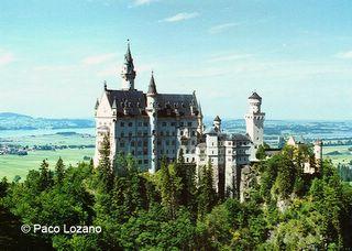 Neuschwanstein castle, Bavaria (Germany)