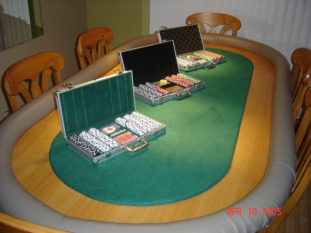 mesa de poker casera taringa