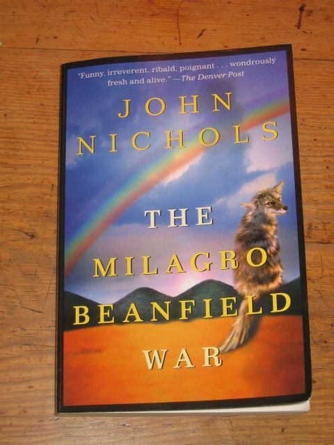 an analysis of the milagro beanfield war and the devine group