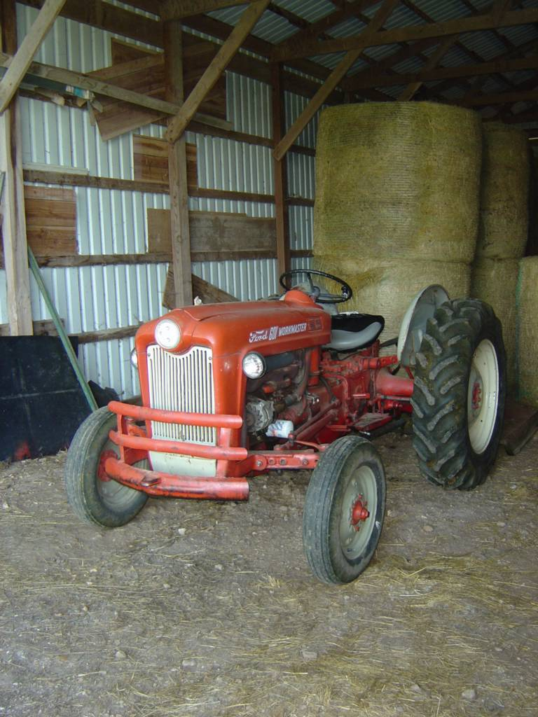 1960 Ford Tractor 601 : Bonj ford workmaster