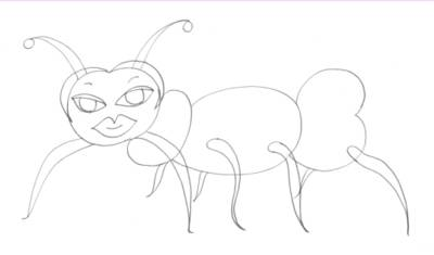 Ant Original Sketch