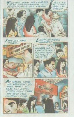 dating daan komiks in english