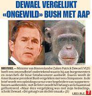 Front page of Het Laatste Nieuws