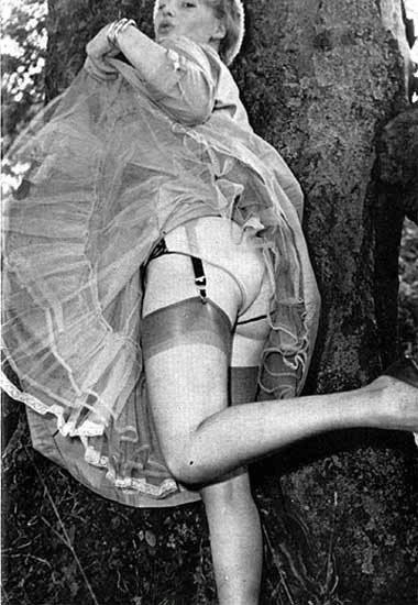 petticoat and stockings