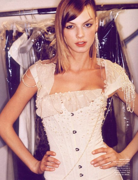 high fashion corset