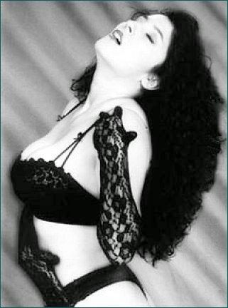 black bra white skin