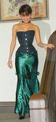 formal corset