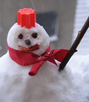 minik kardan adam