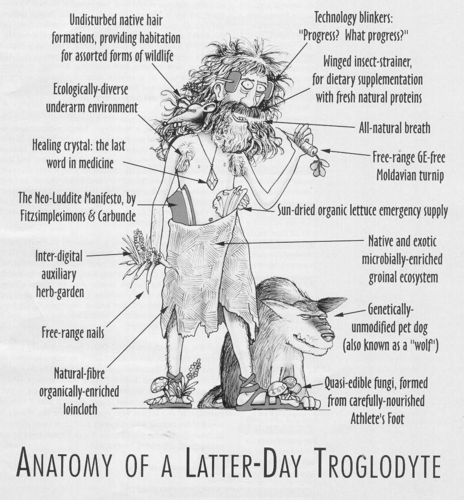 Not PC: Anatomy of a latter day troglodyte