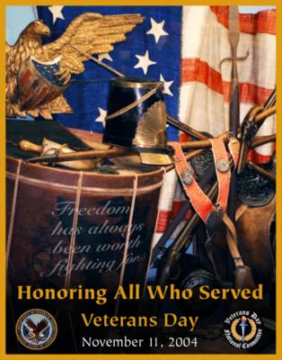 2004 Veterans Day Poster