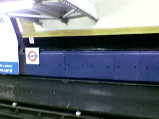 Covent Garden Station, Piccadilly Line Platform