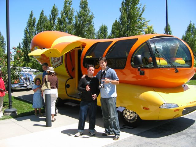Fraud Alert in addition Oscar Mayer Wienermobile further Pixar Motorama 5 as well Primates Penis Size How Do You Measure additionally Showthread. on oscar meyer weinermobile interior