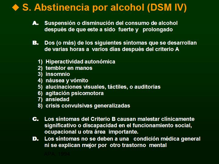 El alcoholismo el tratamiento al monasterio
