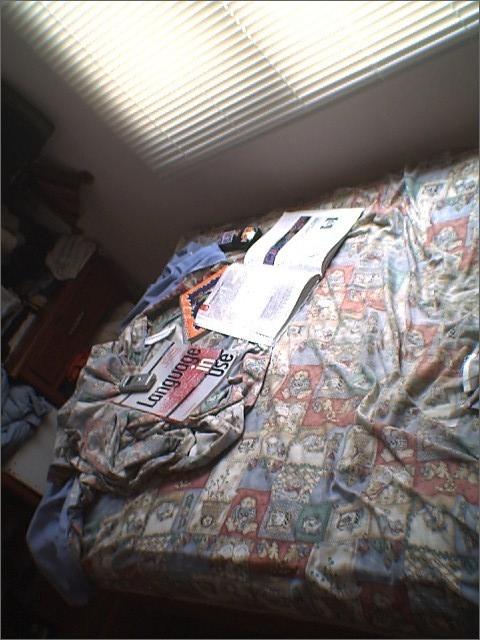 cama destendida