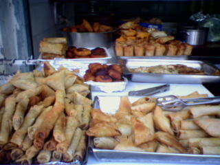 Shabbat meat pastries