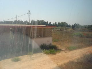 The old Kfar Vitkin train station