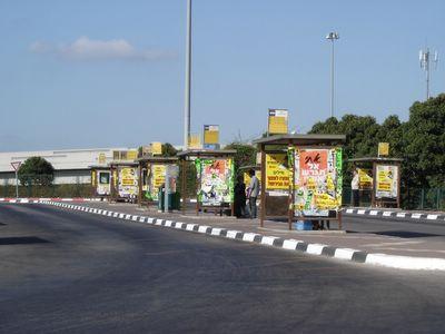 Tel Aviv bus hub