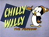 Chilly Willy title card logo