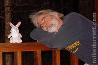 Mike Durrett and the magic of a free plush Thumper.