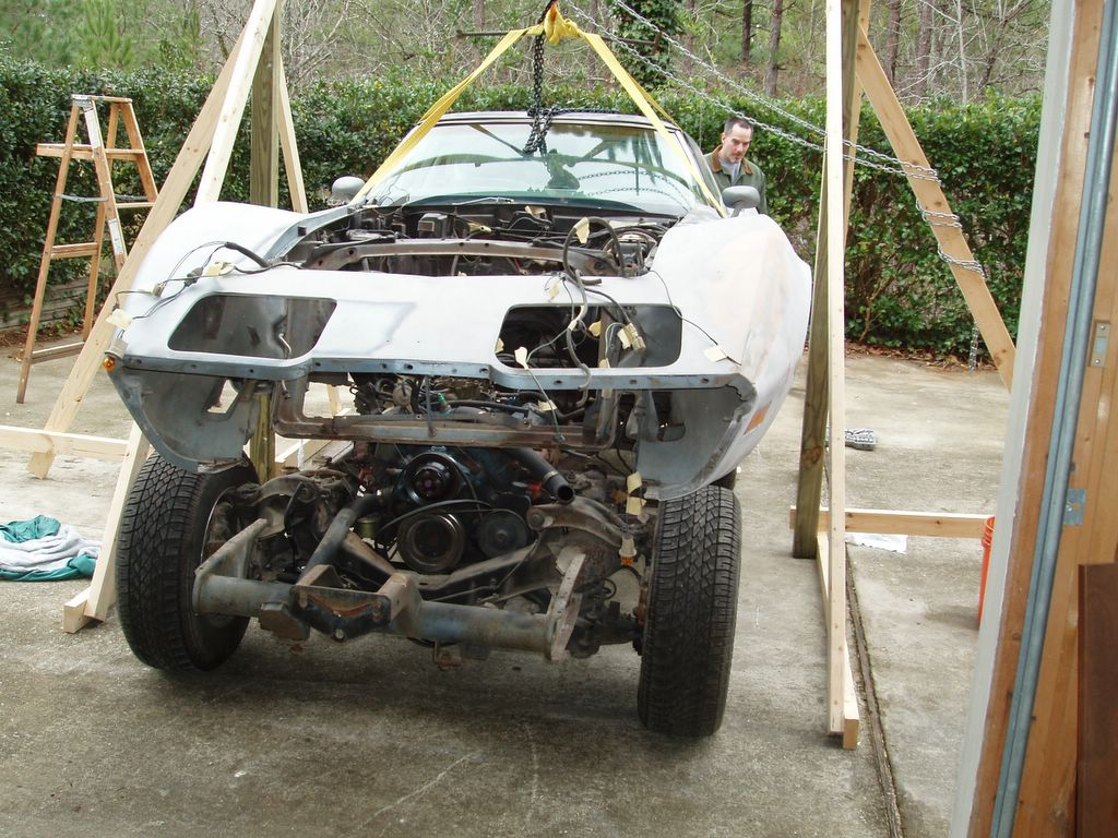 1977 Corvette Restoration Project: And then there was two.... (frame ...