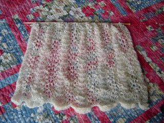 KnitFreedom - Feather and Fan - How To Knit Basic Feather