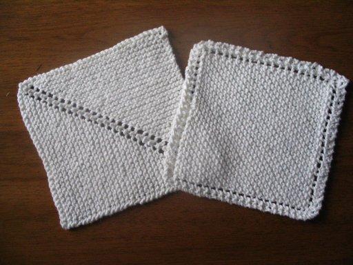 Strings and Sealing Wax: Dishcloths
