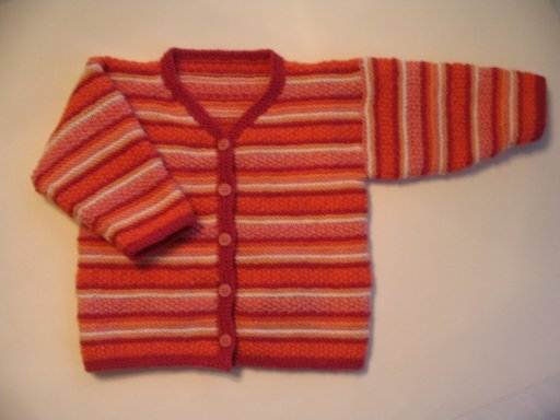 Strings And Sealing Wax Baby Cardigan
