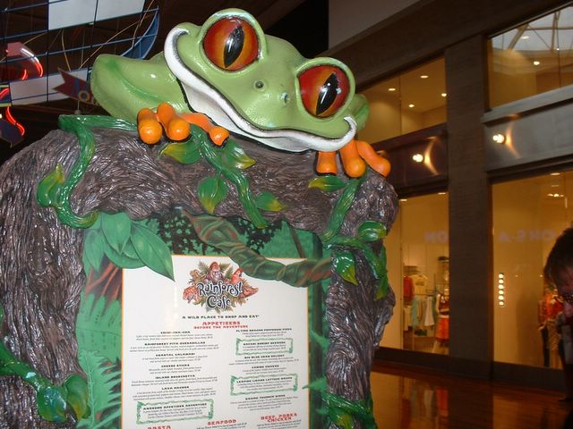 Rainforest Cafe Menu Grapevine Texas