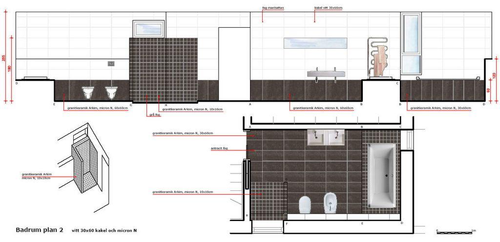 Aa66 progetto di pavimenti e bagni - Progetto bagno paderno ...