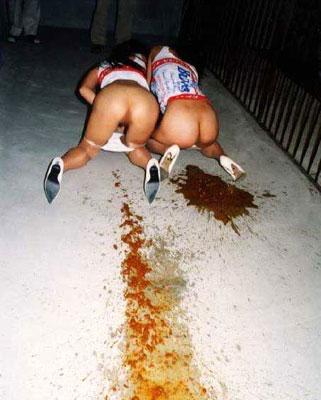 фото какающих девушек