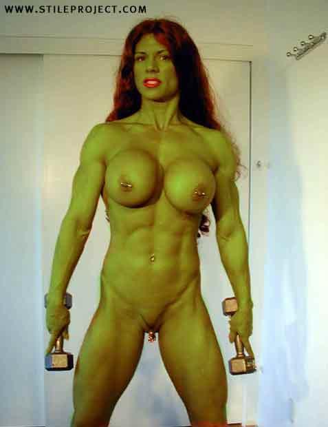 Transformation nude body
