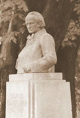Baudelaire, Jardin du Luxembourg