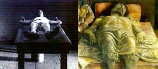 Ettore y el cristo Muerto de Mantegna