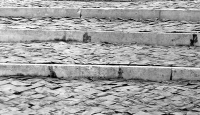 escadas de calcário