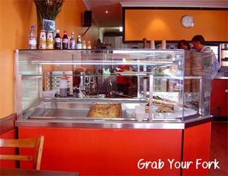 Pasta Shot service counter