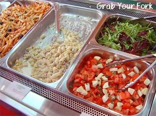 Pasta Shot pastas and salads