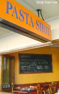 Pasta Shot frontage