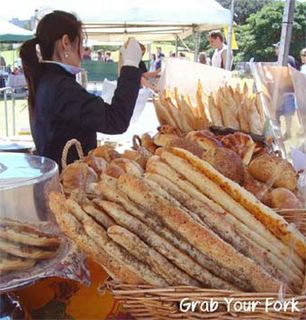 Breads at the Beb Patisserie stall