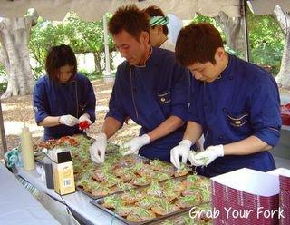 Ocean Room chefs