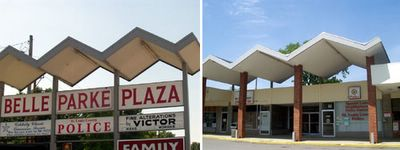 belle park plaza in spanish lake, missouri as photographed by toby weiss in 2001 and 2005