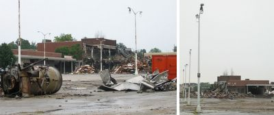 northland shopping center demolition photos by toby weiss