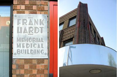 Frank Hardt Memorial Medical Building at Brannon and Chippewa, photo by Toby Weiss