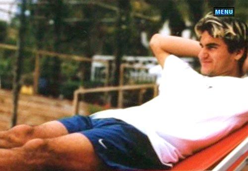 Roger de niño Federer5580