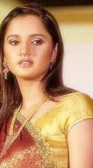 Sania Mirza in a Saree