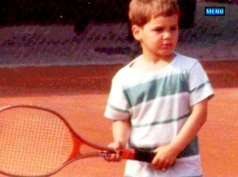 Roger de niño Young%20federer2