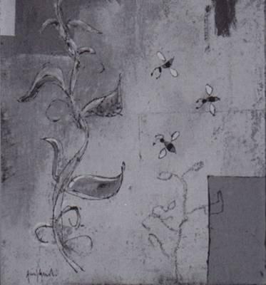 quadro di Luca Giovagnoli intitolato Composizione