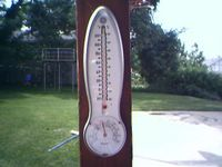 My backyard weather station.
