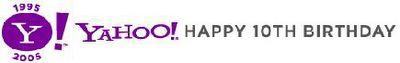 Yahoo!'s 10th birthday 2nd March 2005