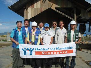 From L to R: Lark, Hosea, Wai Yan, Hiew, Adele, Hock Teck, Alvin, Kai Jiun